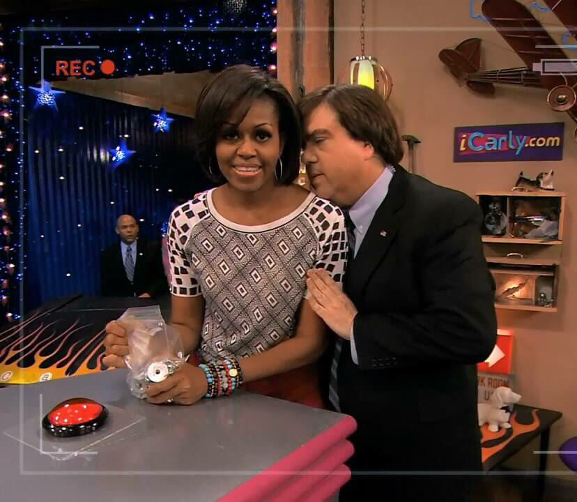 Michelle Obama and Dan Schneider