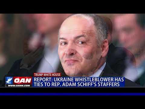 Report: Ukraine whistleblower has ties to Rep. Schiff's staffers