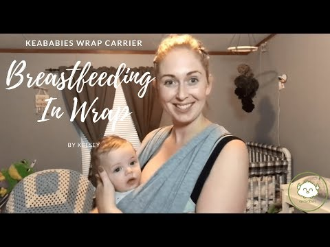 How To Use A Baby Wrap Carrier For Breastfeeding?