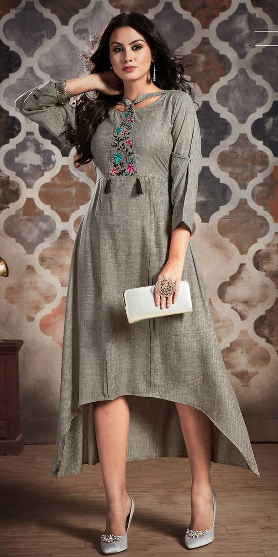 Elegant Party Wear Kurtis Collections Available Online at Mirraw