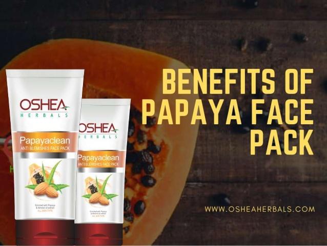 Osheaherbals Papaya Face Pack