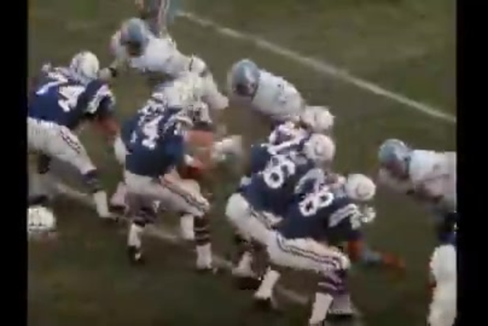 Oilers vs Colts 1973: Part Two