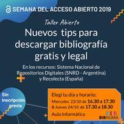 Semana AA 2019 en BIBHUMA