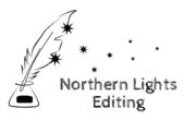 Northern lights Editing