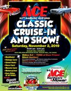 ACE - 20th ANNUAL CLASSIC CRUISE IN