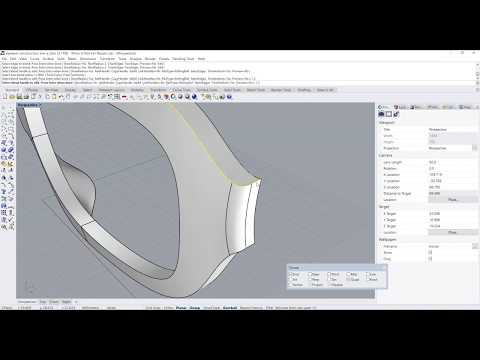 Rhino CAD Tutorial: Eyewear (Spectacle) Product Design Modelling - Part 1
