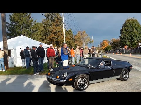 Watching the Cars Drive Onto the Show Field  7  2019 AACA Fall Meet Hershey