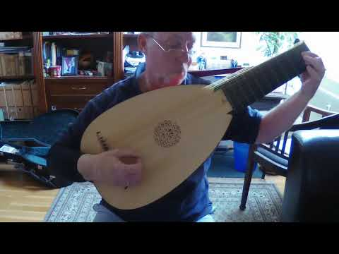 Saraband of English Gaultier from the Burwell Lute Tutor (approx. 1670)