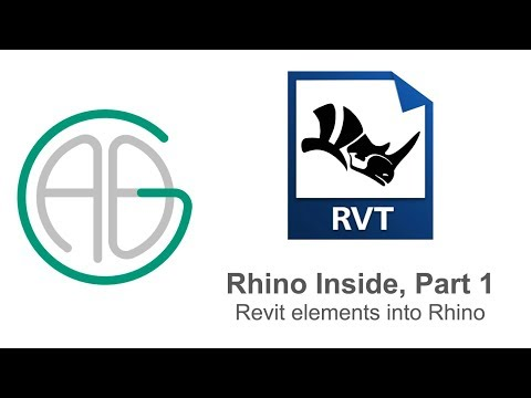 Rhino Inside: Revit Elements into Rhino (Part 1)