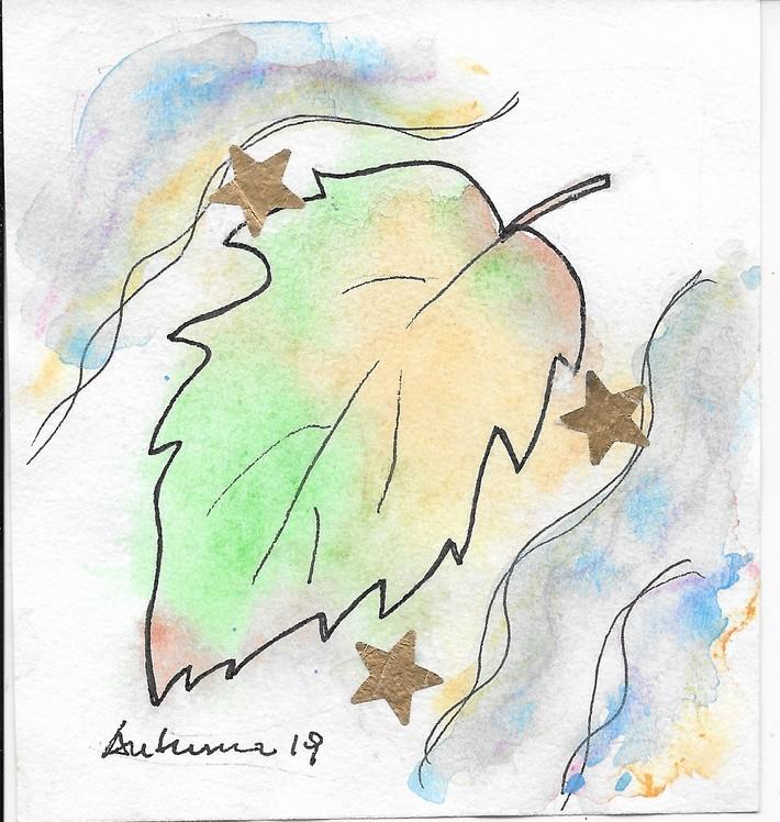 Mail Art Martha-autumn