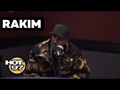 Rakim On Signing A$AP Rocky's Diaper, Will Smith Biting His Style, MC Serch + New Book!
