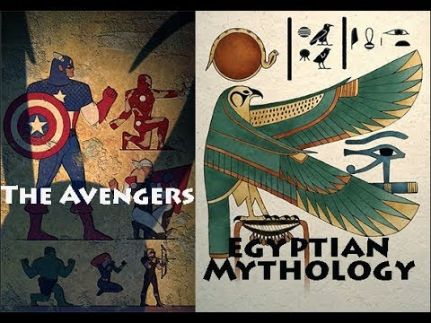 Jordan Peterson: Marvel's Avengers & Egyptian Mythology