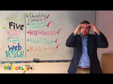 5 Wildly Effective Elements of Website Design