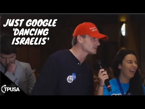 Charlie Kirk Gets Asked About The Dancing Israelis FULL VERSION
