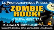 Zombie Rock and Halloween Thursday at Sativa