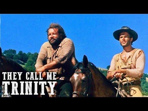 They Call Me Trinity | WESTERN | English | Full Length Spaghetti Western Film | Full Movie