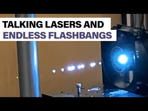Talking lasers and endless flashbangs: Pentagon develops plasma tech