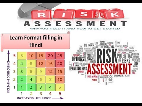 How to conduct risk assessment of IOSH & CITB in hind I Learn format filling of risk assessment..