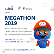 Megathon 2019 organized by e-Zest Solutions and Fresco Capital