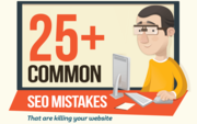 Common SEO Mistakes (Infographic)