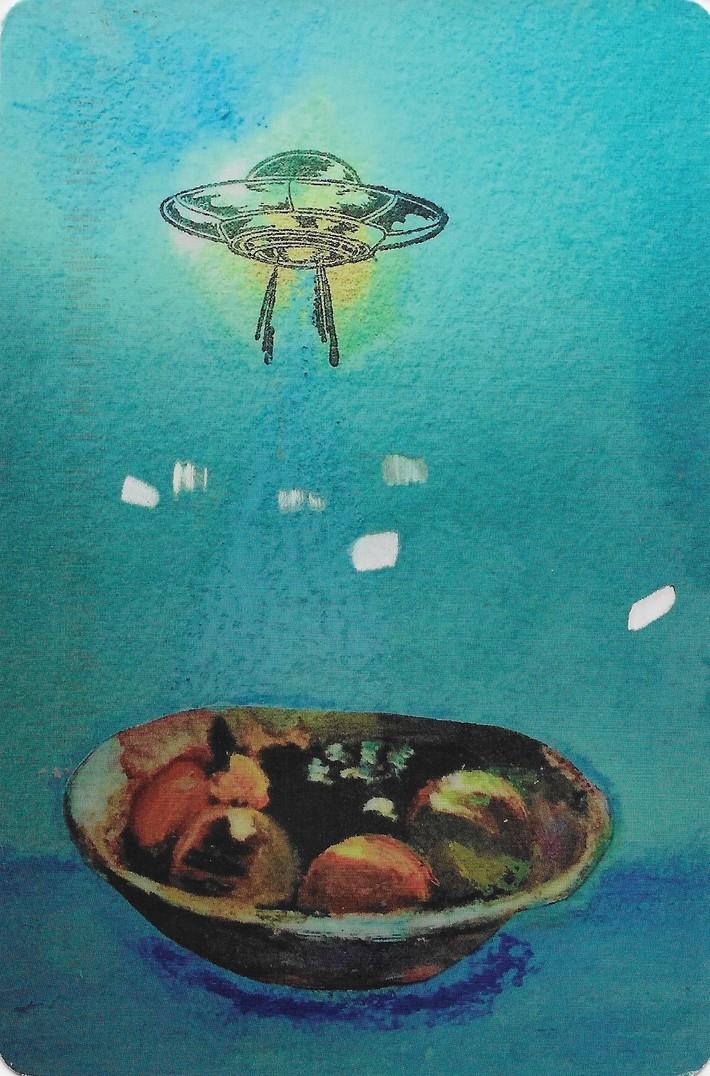 Carmen Kennedy-fruit w/aliens