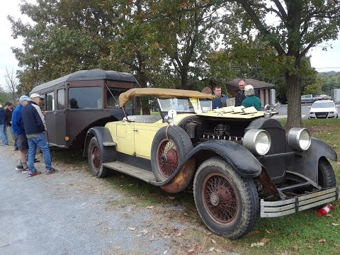 1930 Curtiss 5th Wheel Aerocar At the  2019 AACA Fall Meet, Hershey