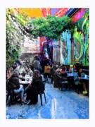 Le Pot au Lait, student café in Liège -, Belgium