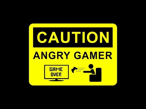 Funny Angry Gamers Losing Temper Compilation #1