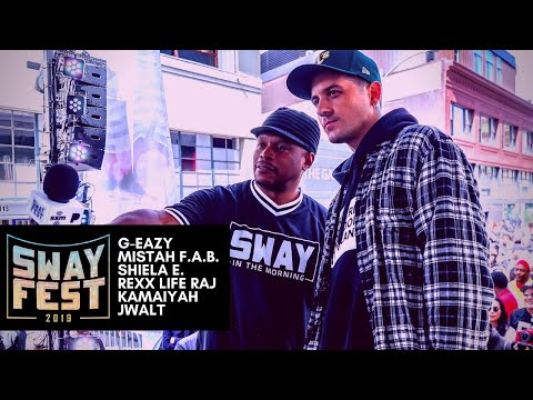 SwayFest 2019 Headlined by G-Eazy, Sheila E., Mistah F.A.B. and More [VIDEO]