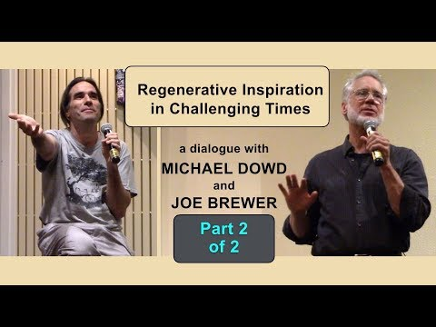 "Dowd and Brewer: ""Regenerative Inspiration in Challenging Times"" pt 2 of 2"