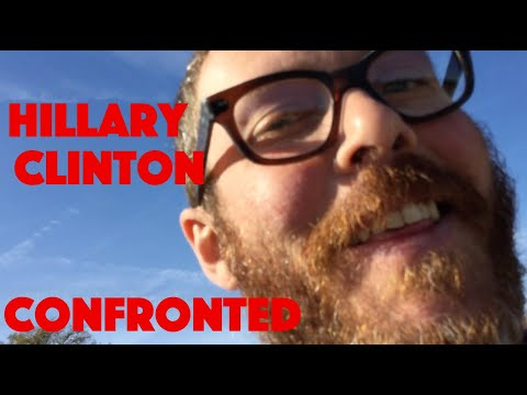Hillary Clinton CONFRONTED in Austin, TX 11/3/2019