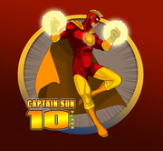 HELP US CELEBRATE 10 YEARS of CAPTAIN SUN!