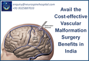 Avail the Cost-effective Vascular Malformation Surgery Benefits in India