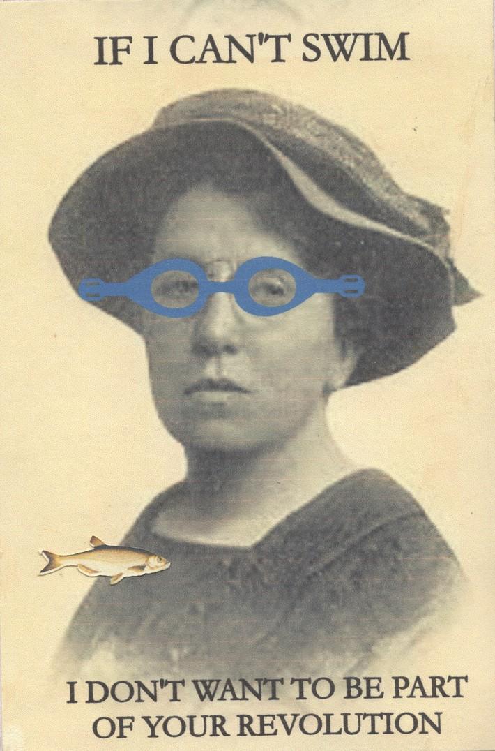Received Olenise Woodward Postcard