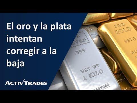 Video Análisis: El oro y la plata intentan corregir a la baja