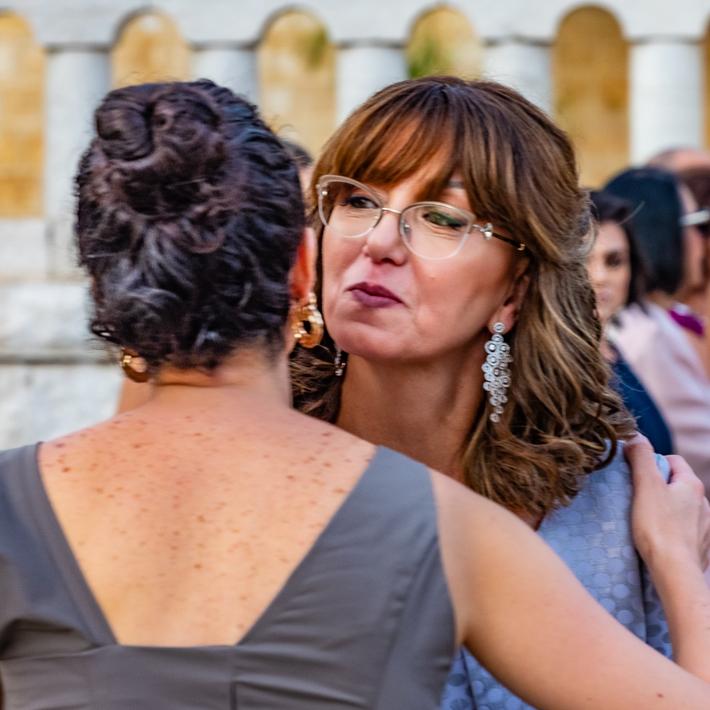 Il bacio di Giuda....le consuocere!!