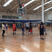 Basketball for Thai people in Melbourne on Sunday