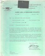 seat belt label bulletin
