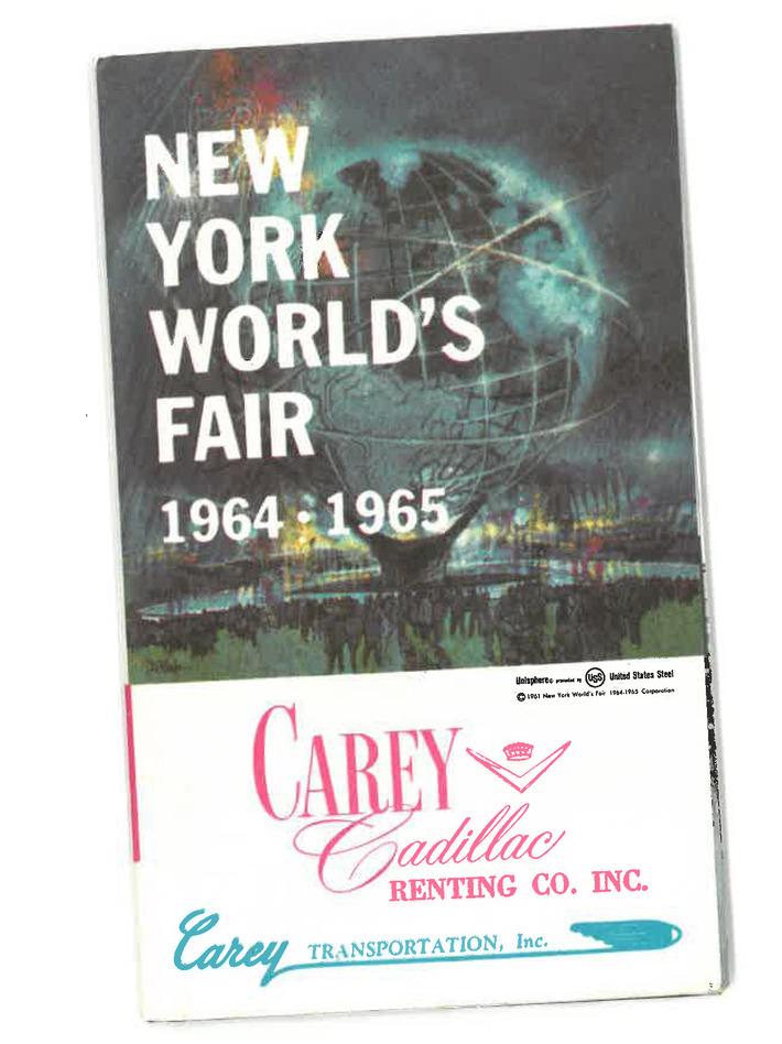 64-65 World's Fair map