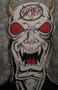 Slayer Demon from the thrash metal band: Slayer