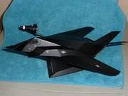 F-117 Nighthawk / Mercury Spaceship