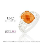 Single stone rings & wholesale natural stone jewelry suppliers