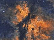 IC1318 Nebula HST