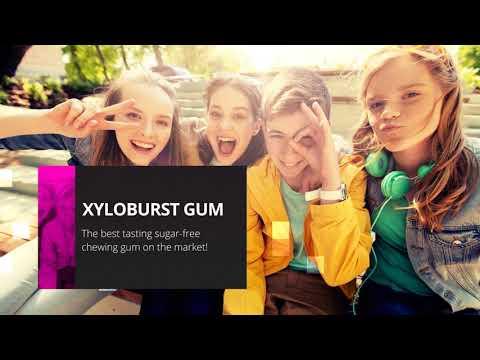 Aspartame Free Xyloburst Gum Sweetened with Natural Xylitol