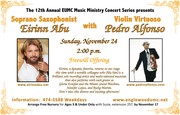 Popular Sax and Violin Artists Appearing