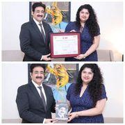 Anshula Kapoor Honored With IWFF Membership