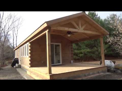 Deliverable Mini Log Homes Ready To Move In