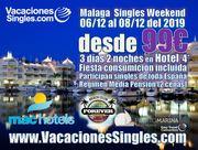 Malaga Singles Weekend 2019