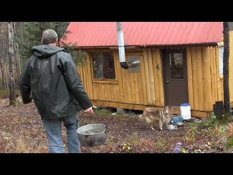 Life in an Off -Grid Cabin