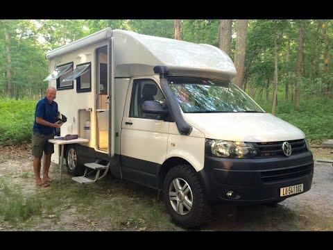 SUPER COOL AMPHIBIOUS RV  Woelcke Autark T5 Crosser Off Road 4x4 Campervan Motor Home